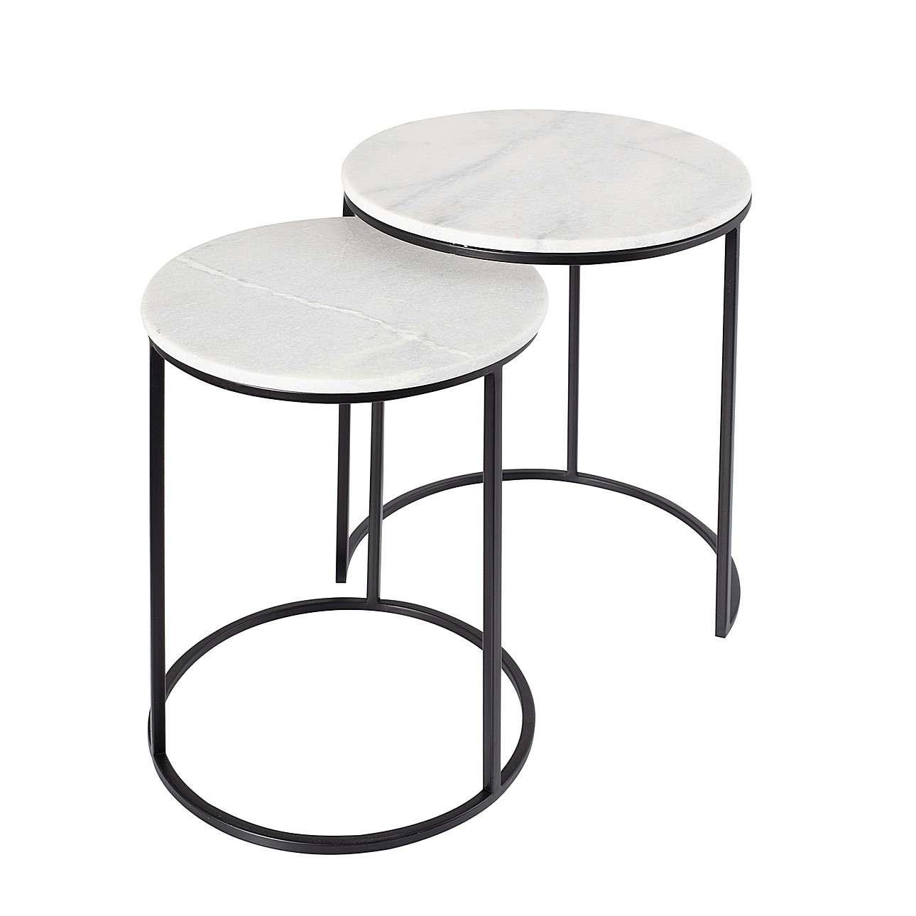 Komplet stolików Lesley 2szt.