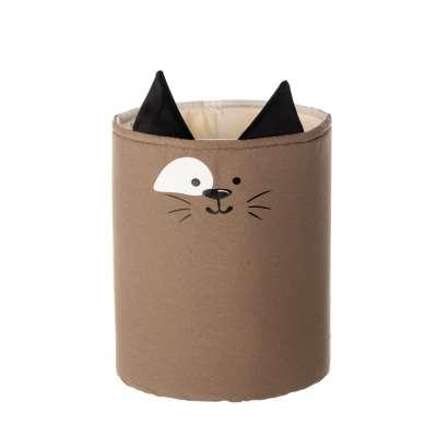 Koš na hračky Happy Band - kočka 30x40cm