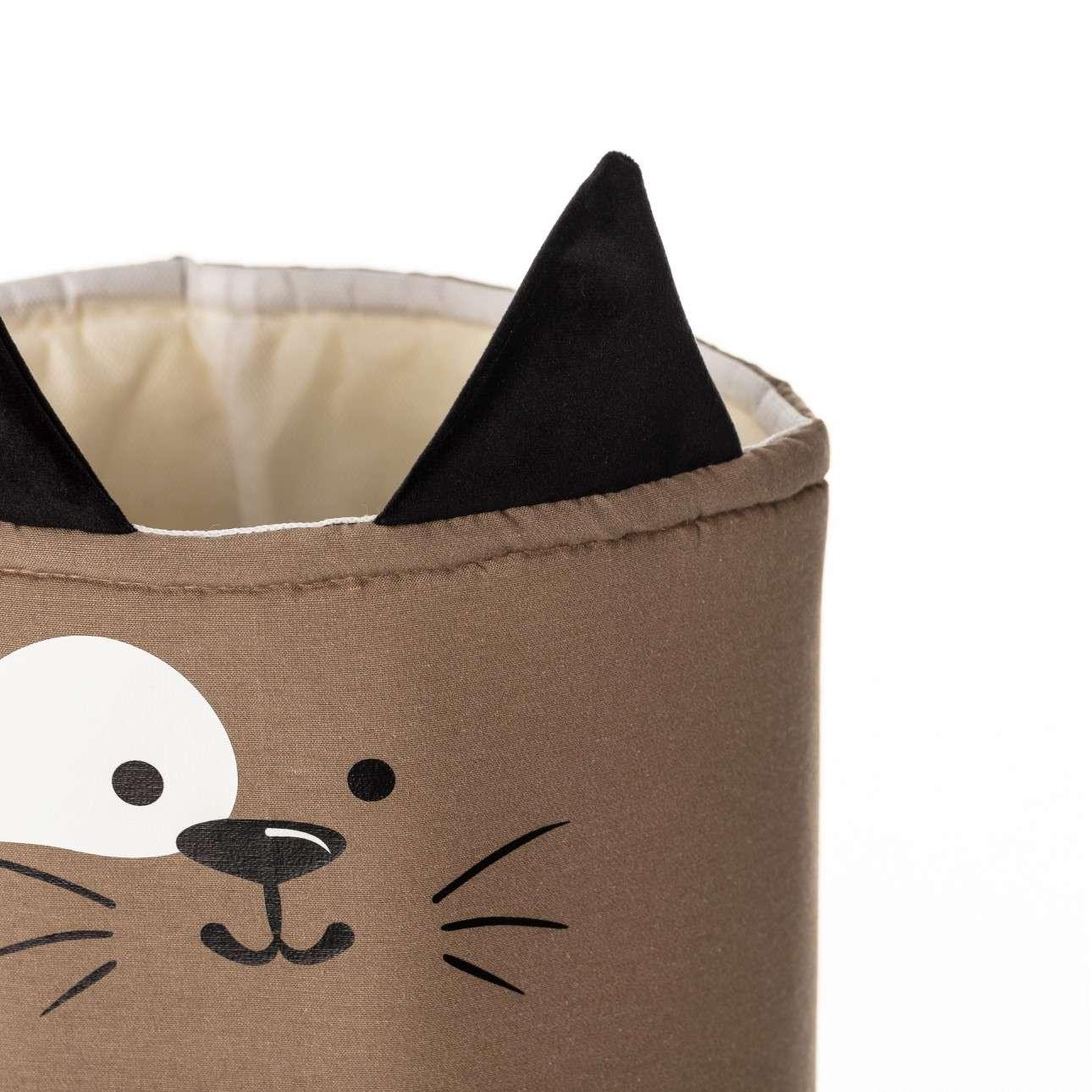 Happy Band toy basket - Cat 30x40cm