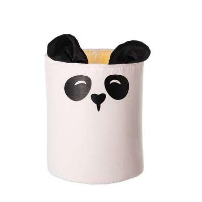 Koš na hračky Happy Band - panda 30x40cm