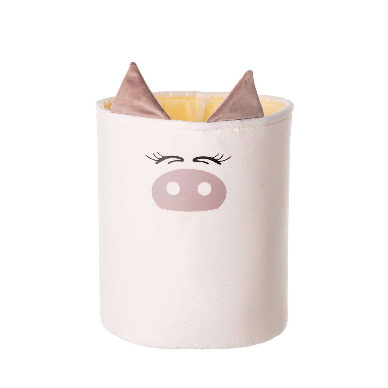 Happy Band žaislų krepšys - Piggy 30x40cm