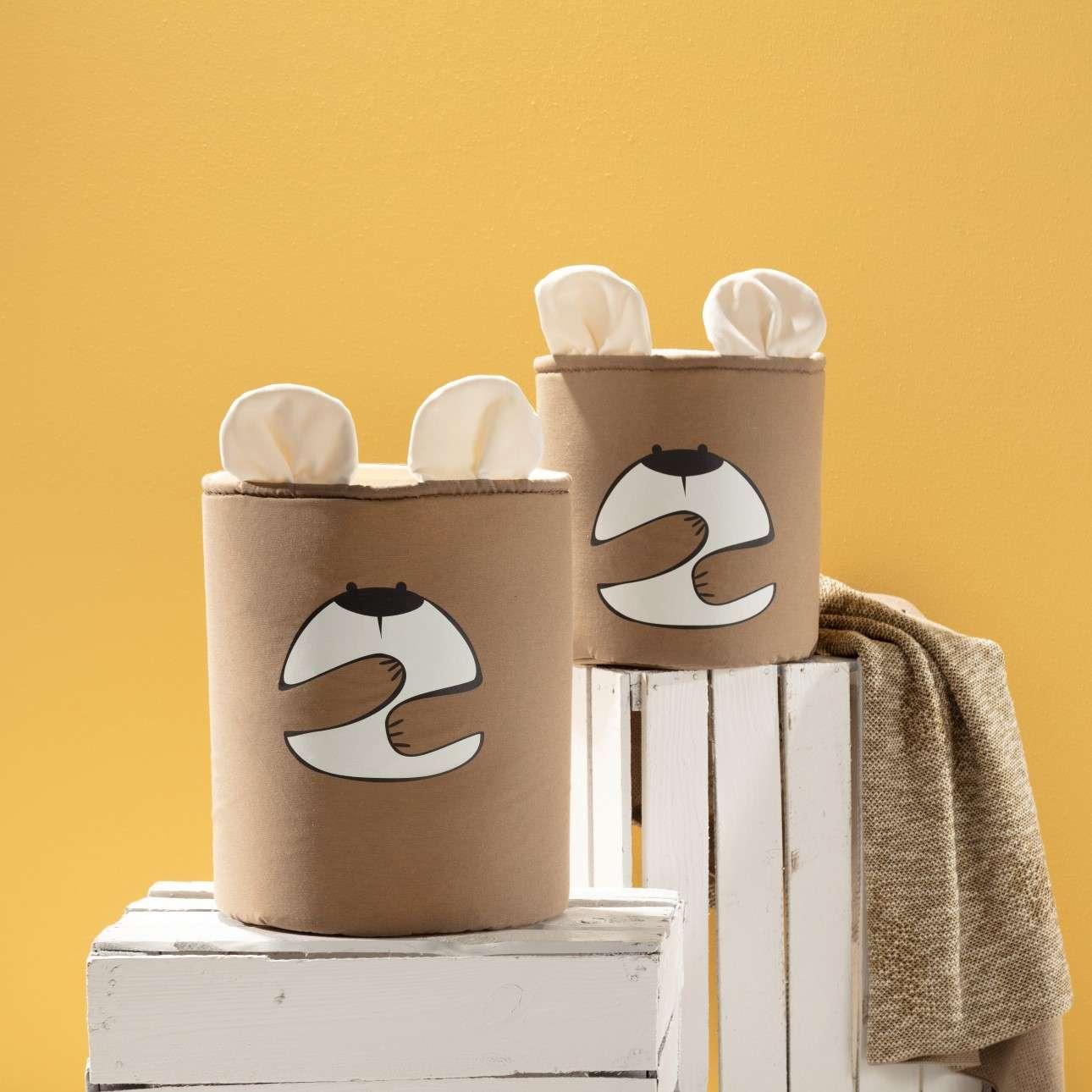 Happy Band žaislų krepšys -- Bear 25x30cm