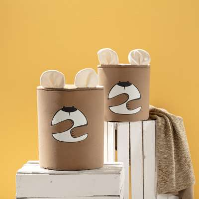 Happy Band toy basket - Bear 25x30cm
