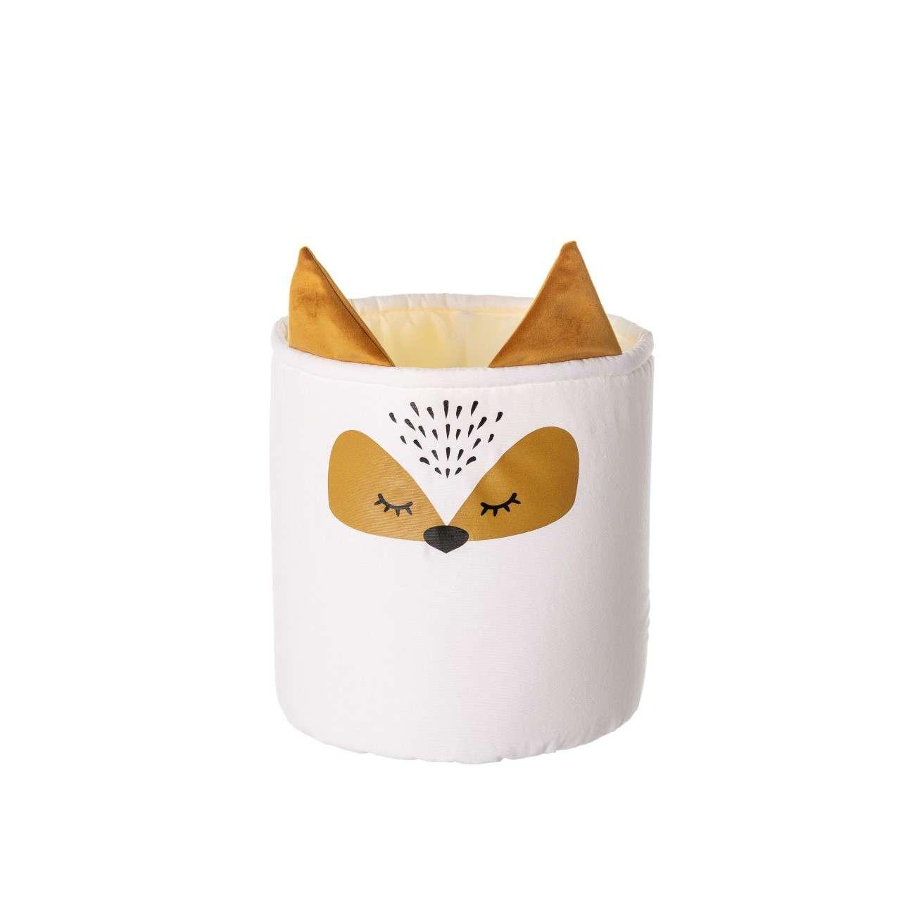 Happy Band toy basket - Fox 25x30cm