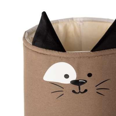 Happy Band žaislų krepšelis  - Cat 25x30cm Žaislų krepšys - Yellowtipi.lt