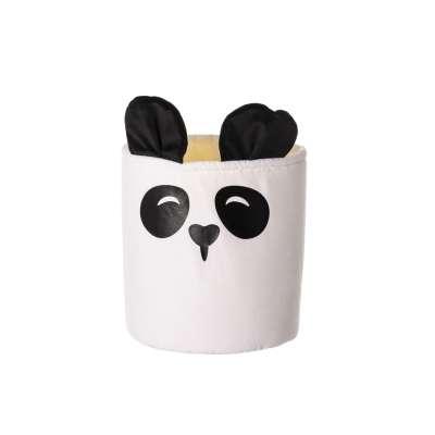 Spielzeugkorb Happy Band - Panda 25x30cm Aufbewahrungskörbe - Yellow-tipi.de