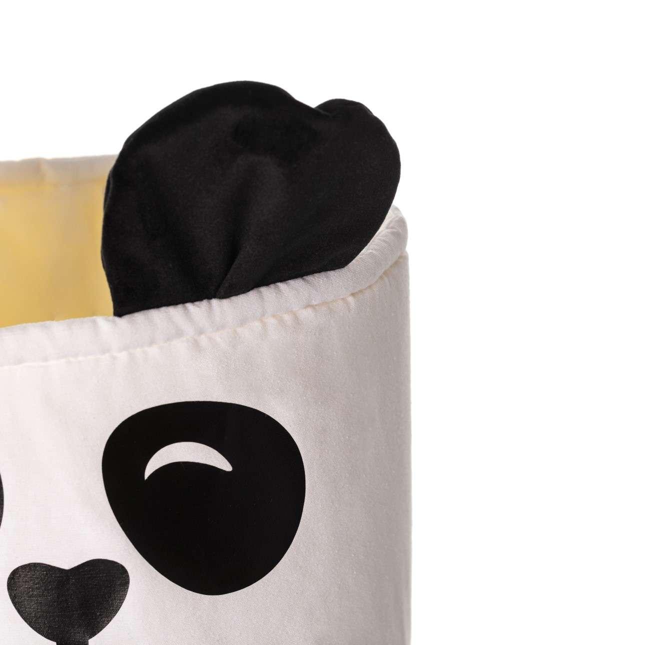 Kosz na zabawki Happy Band - Panda 25x30cm