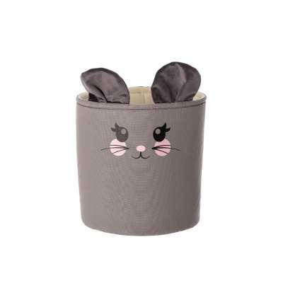 Happy Band žaislų krepšelis - Mouse 25x30cm