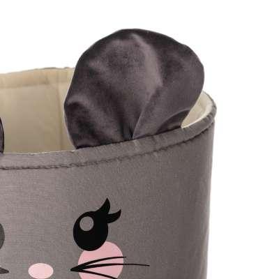 Kosz na zabawki Happy Band - Mouse 25x30cm