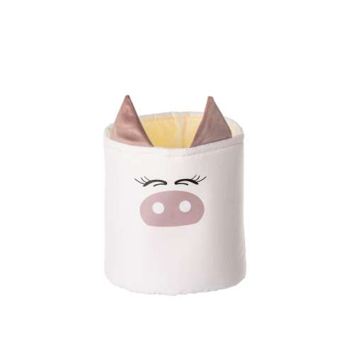 Happy Band toy basket - Piggy 25x30cm