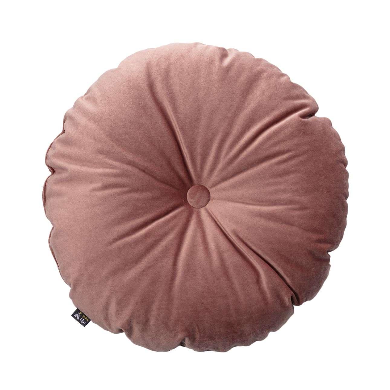 Kissen Candy Dot von der Kollektion Posh Velvet, Stoff: 704-30