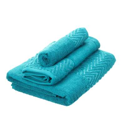 Komplet ręczników Terry 3szt. caribbean blue