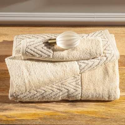 Komplet ręczników Terry 3szt. ecru