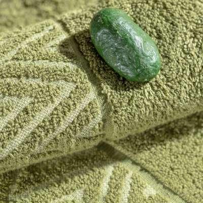 Komplet ręczników Terry 3szt. moss green