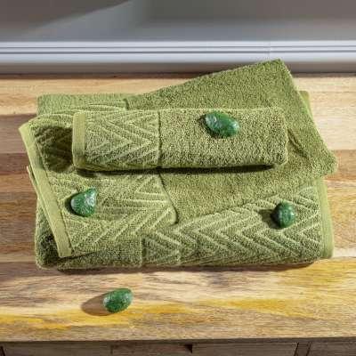 Sada 3ks ručníků Terry moss green