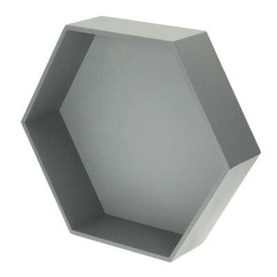 Honeycomb shelf grey 50x45x15cm Furnitures - Yellowtipi.uk