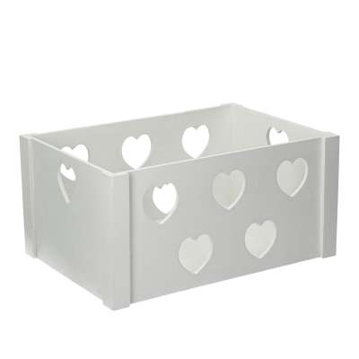 Hearts chest 35x45x25cm Wooden boxes - Yellowtipi.uk