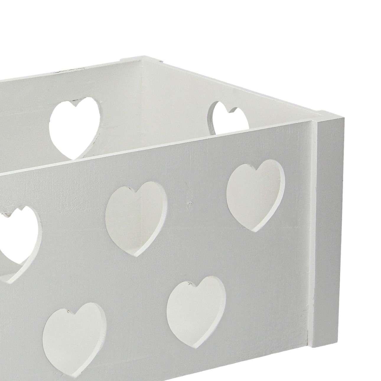 Hearts chest 35x45x25cm