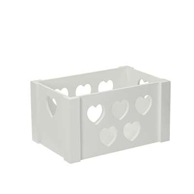 Spielzeugbox Hearts 23x35x20cm Holzkisten - Yellow-tipi.de