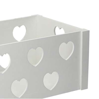 Hearts chest 23x35x20cm Wooden boxes - Yellowtipi.uk