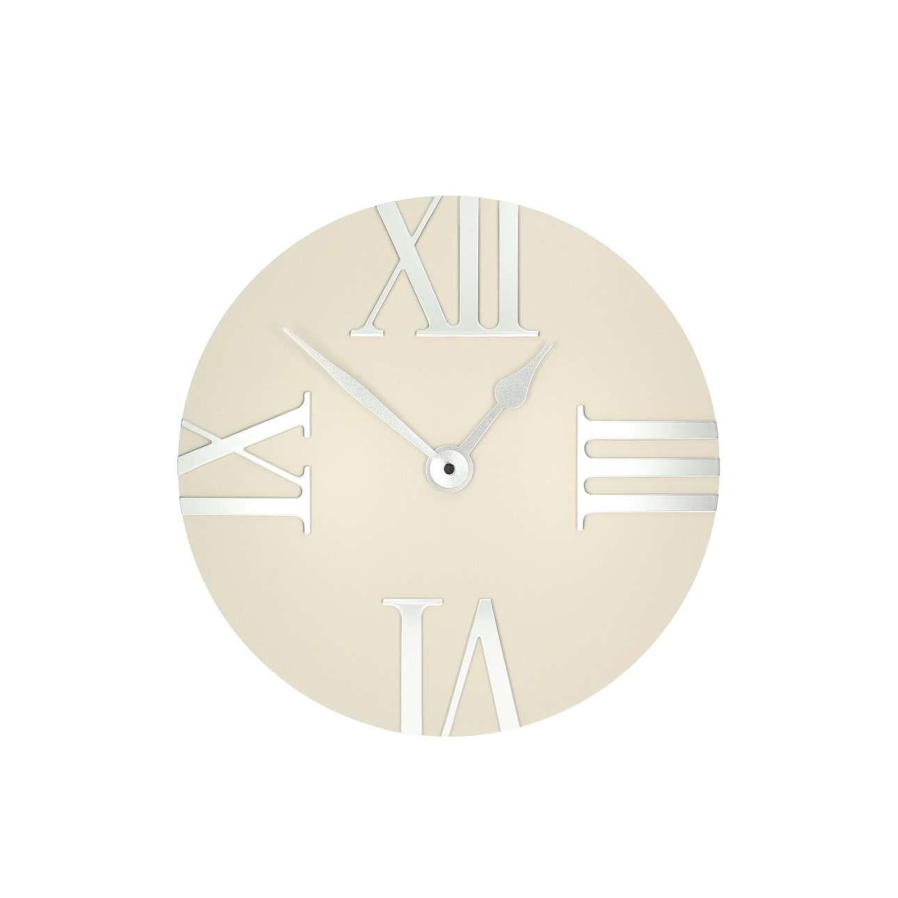 Retro cream clock