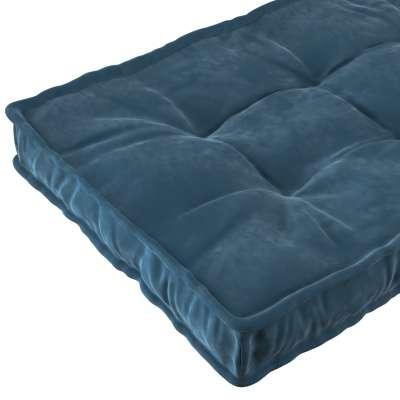 French mattress 704-16 dark blue Collection Posh Velvet