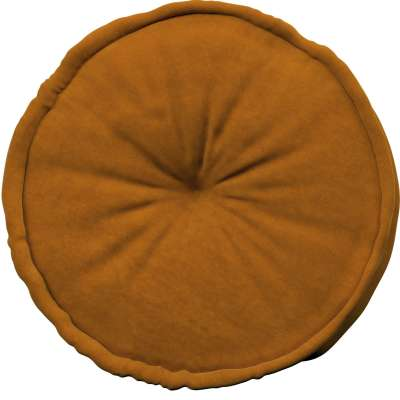 French pouf in collection Posh Velvet, fabric: 704-23