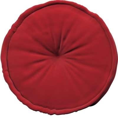 Francouzský puf 704-15 intenzivní červená Kolekce Posh Velvet