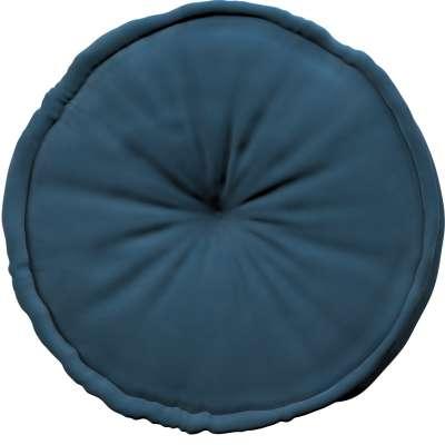 Französischer Pouf 704-16 blau Kollektion Posh Velvet