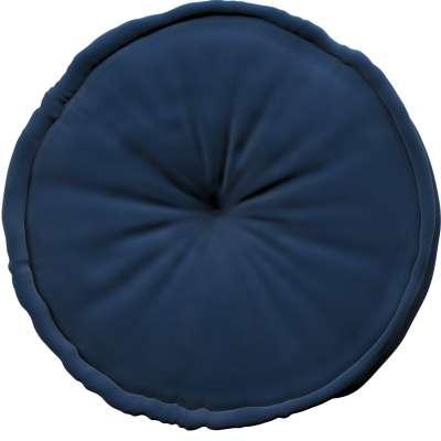 French pufas 704-29 tamsi mėlyna Kolekcija Posh Velvet