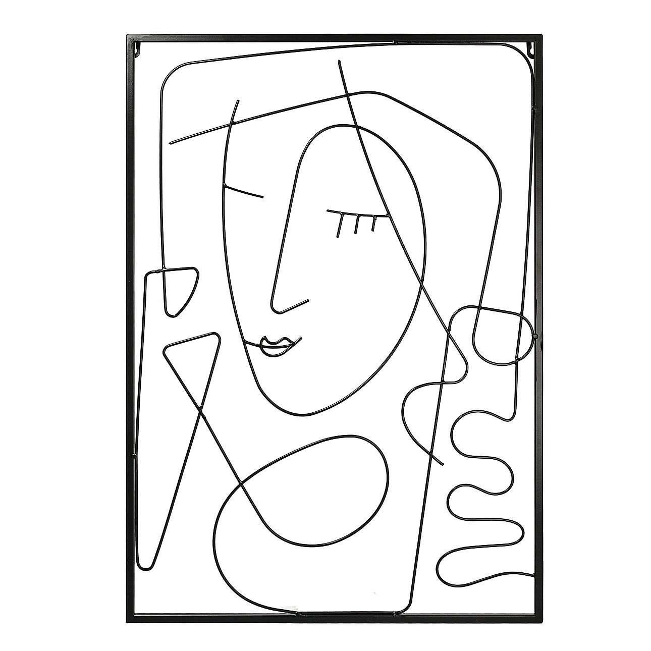 Dekoracja ścienna Line Art II