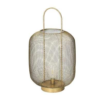 Tischlampe LED Narva Gold 53cm Kindermöbel - Dekoria.de
