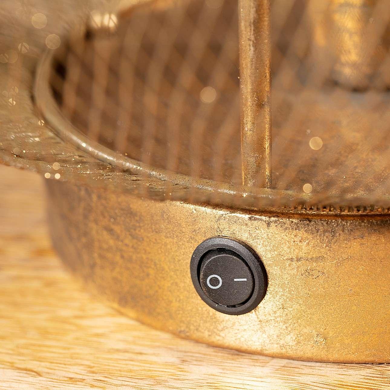 Tischlampe LED Narva Gold 53cm