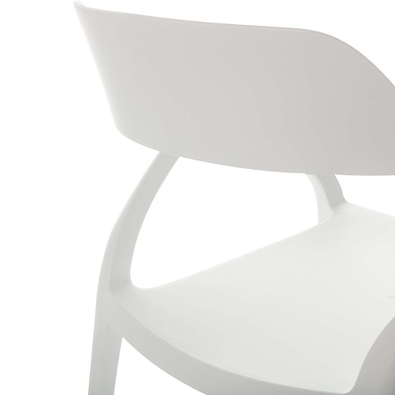 Krzesło Zing White