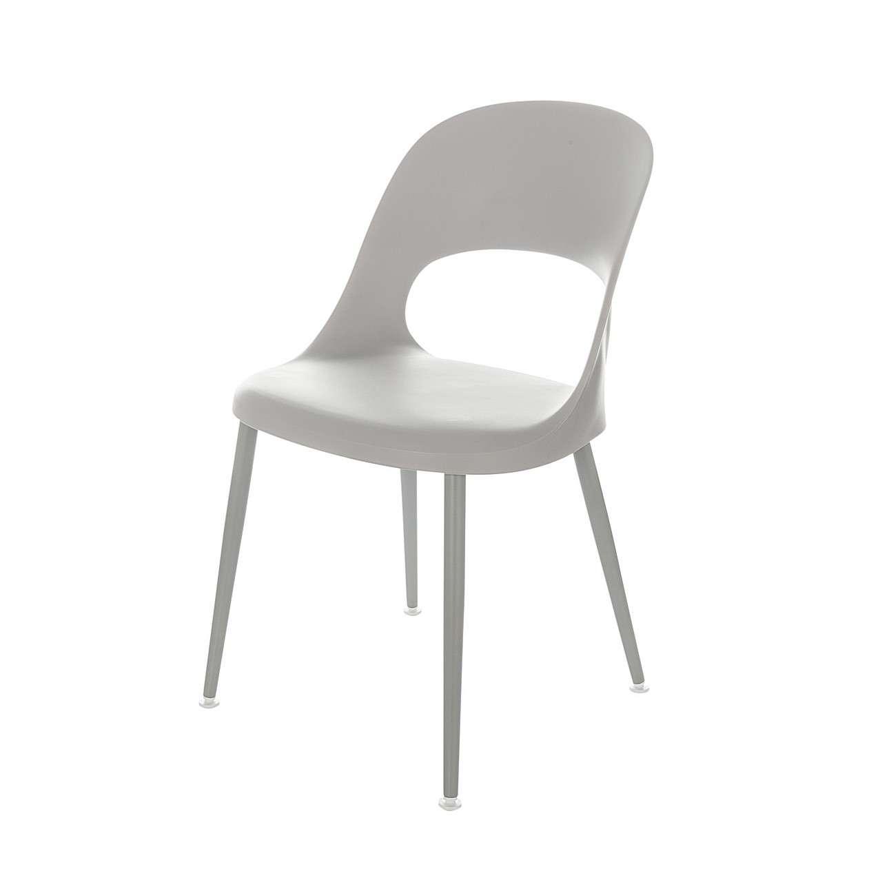 Židle Aria light grey