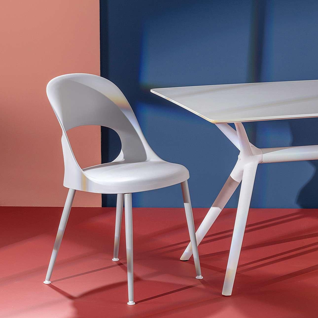 Krzesło Aria light grey