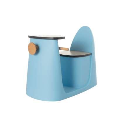 2-in-1 table chair Vespo blue