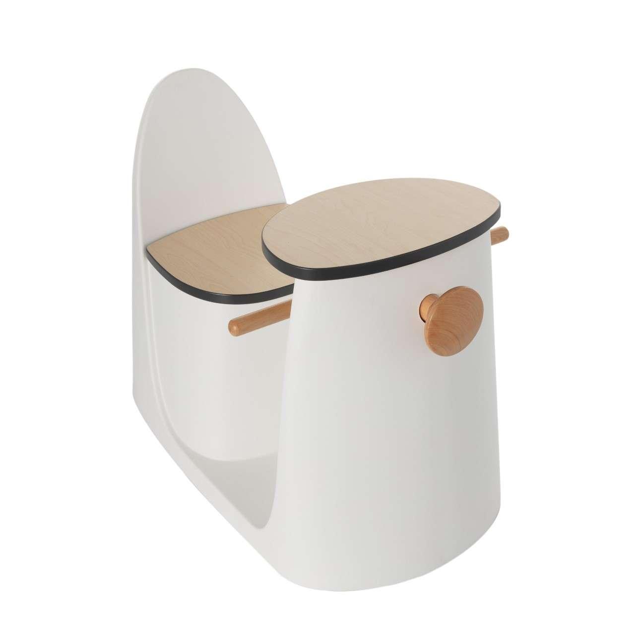 Krzesełko ze stolikiem 2w1 Vespo white