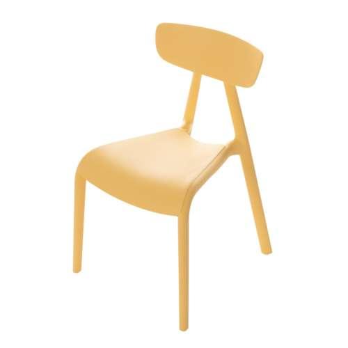 Krzesełko dziecięce Pico I pudding yellow
