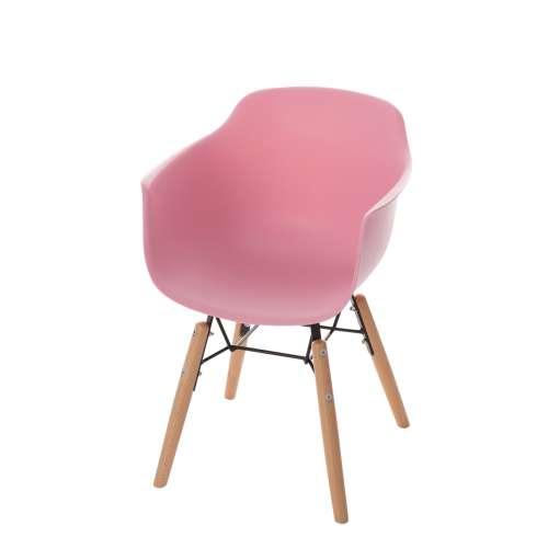 Dětská židle Monte candy pink
