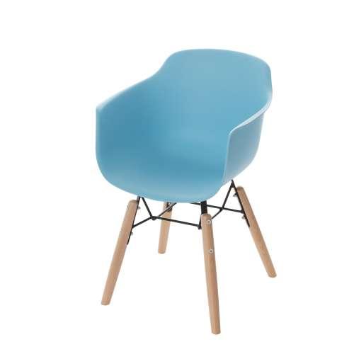 Dětská židle Monte light blue