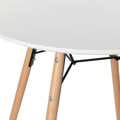 Monte baltas vaikiškas stalas 60cm Staliukai - Yellowtipi.lt