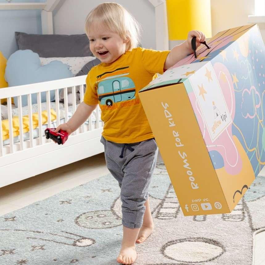 Gift Box Yellow Tipi