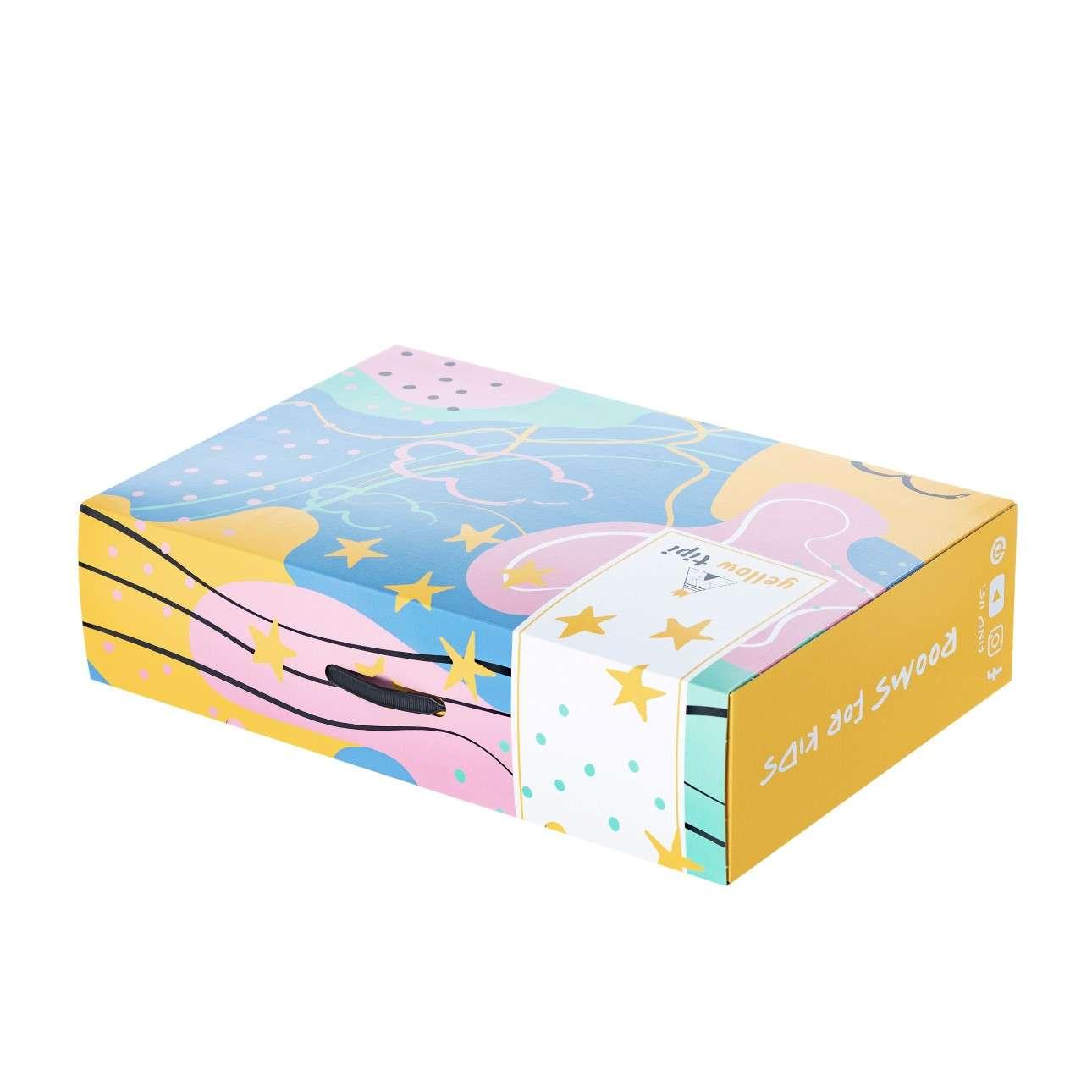 Dárková krabička Yellow Tipi
