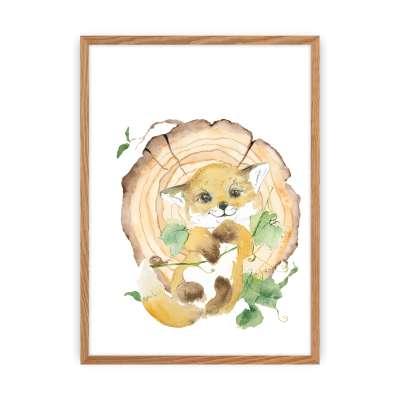 Bild Forest Story Fox