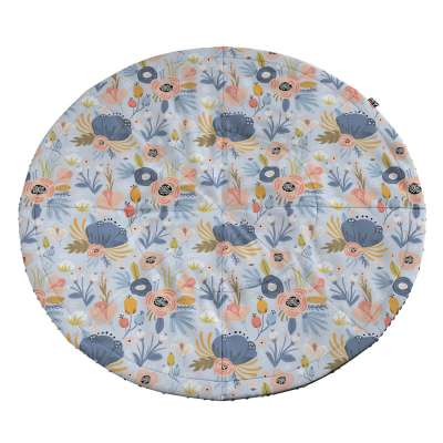 Mata okrągła śr. 130cm 500-05 + Minky