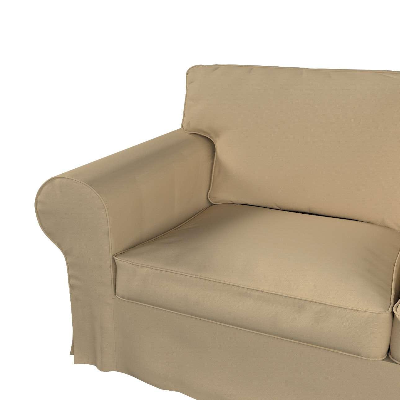 Pokrowiec na sofę Ektorp 2-osobową i leżankę w kolekcji Cotton Panama, tkanina: 702-01