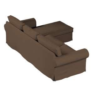 Ektorp dvivietės sofos su gulimuoju krėslu užvalkalas Ikea Ektorp dvivietės sofos su gulimuoju krėslu užvalkalas kolekcijoje Cotton Panama, audinys: 702-02