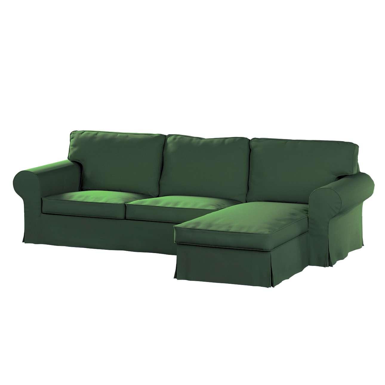 Ektorp dvivietės sofos su gulimuoju krėslu užvalkalas Ikea Ektorp dvivietės sofos su gulimuoju krėslu užvalkalas kolekcijoje Cotton Panama, audinys: 702-06