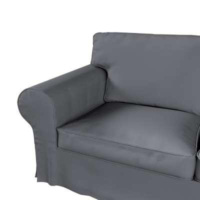 Pokrowiec na sofę Ektorp 2-osobową i leżankę w kolekcji Cotton Panama, tkanina: 702-07